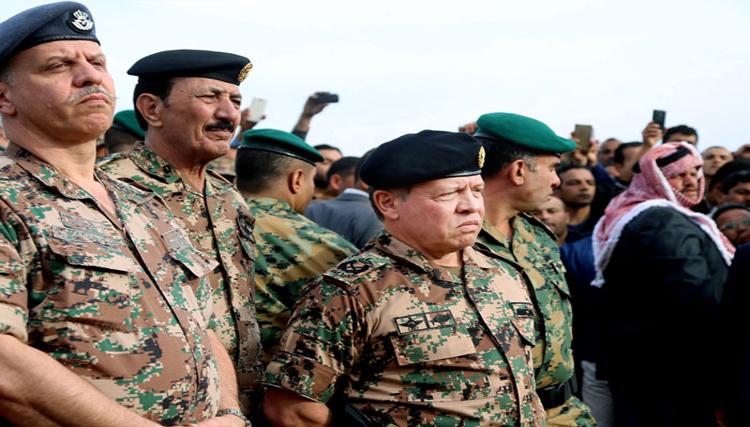 العاهل الاردني و الحرب على الارهاب مع ترامب