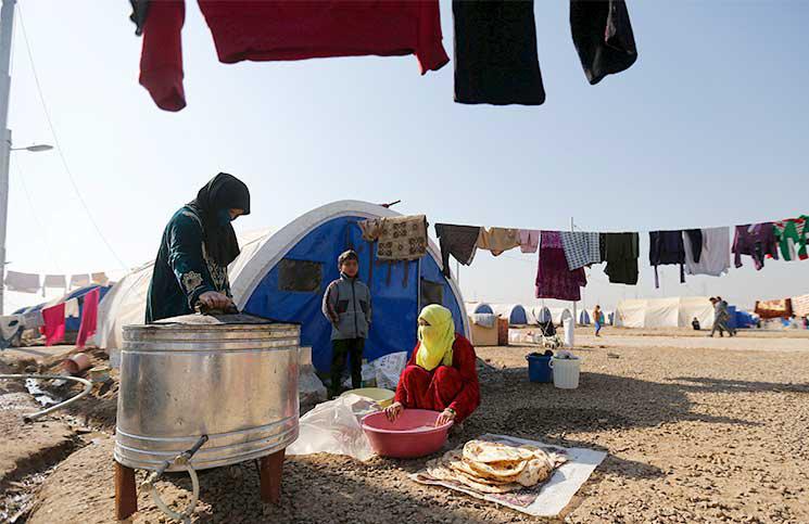 الموصل عودة النازحين