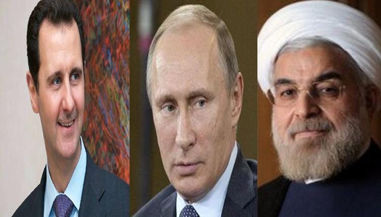 ايران و روسيا و الاسد