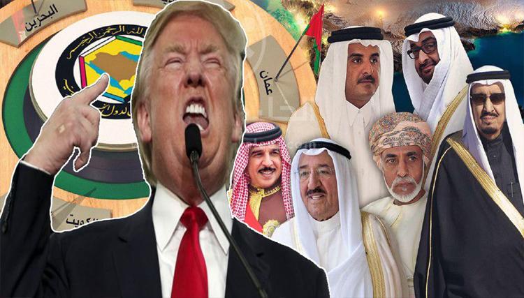 ترامب و الملك سلمان