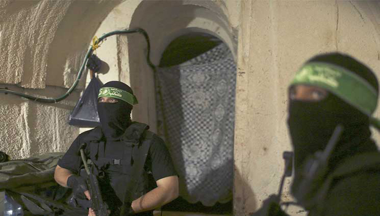 «حماس» تقوم بحفر الأنفاق داخل إسرائيل،