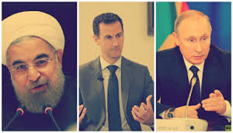 روسيا والمعارضة ضد ايران والنظام