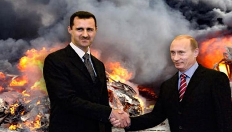 مرة تلو مرة روسيا تكرير الأسد