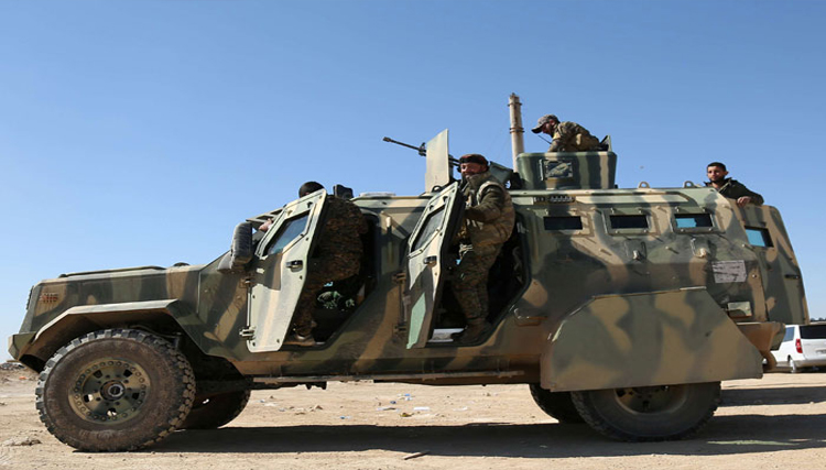 ميليشيا قوات سوريا الديمقراطية تدخل محافظة دير الزور