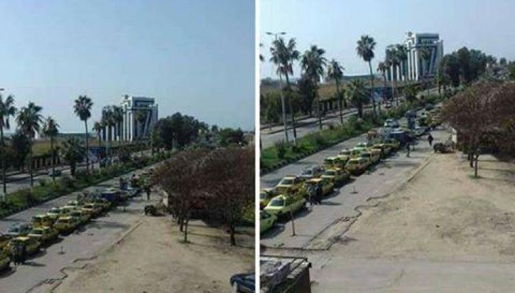 قطع الدعم الايراني عن مدن الساحل