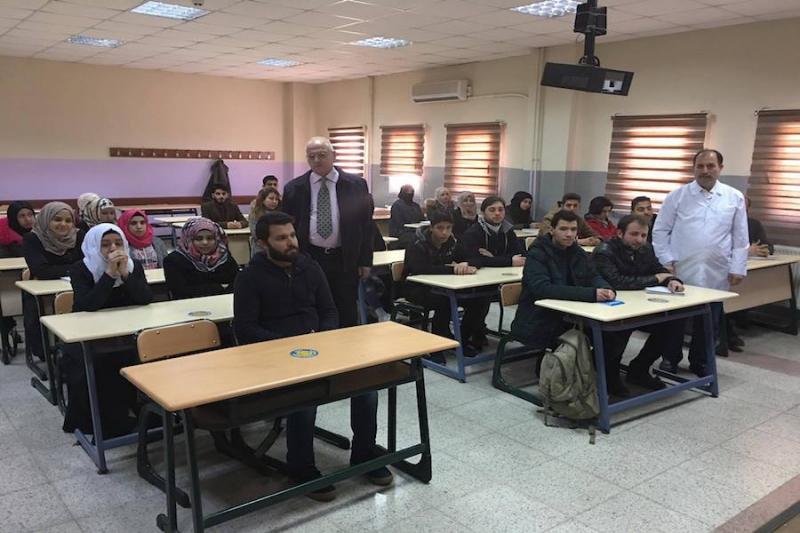 استيعاب تركيا لطلبة واكاديميين سوريين