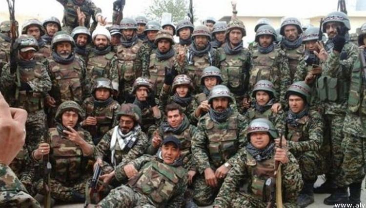 افغان يتدربون في ايران والوجهة سوريا و العراق