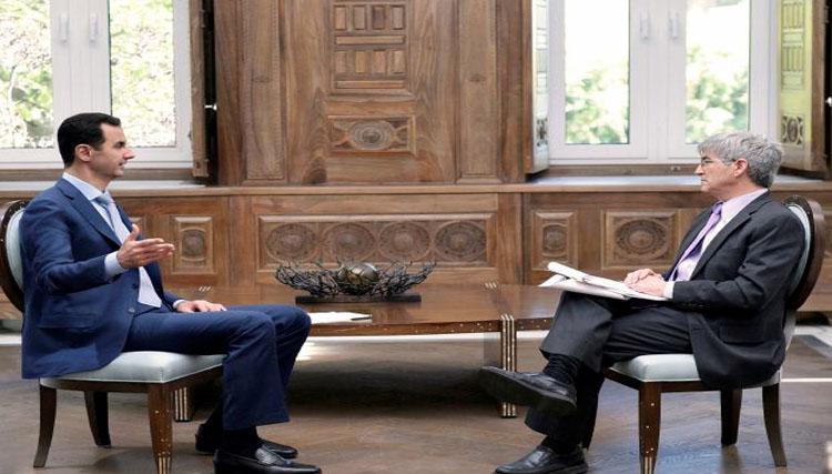 الأسد يرصد عبر مخابراته الداخلين والخارجين من الأجانب في سورية