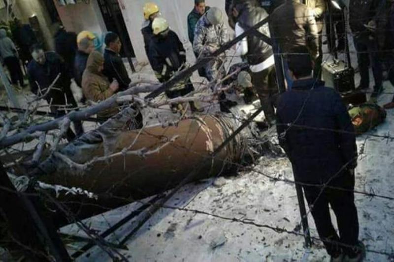 بماذا تم قصف إسرائيل؟