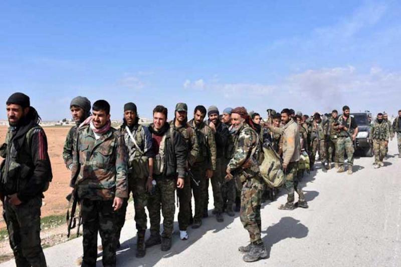 تحالفات جديدة لامريكا في سورية