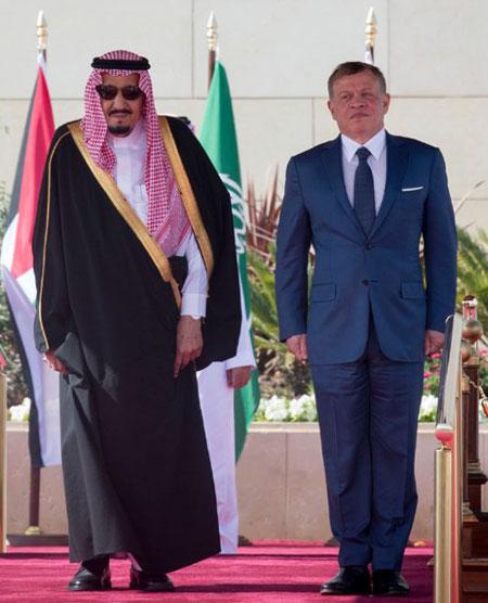 قمة سعودية اردنية تسبق القمة العربية