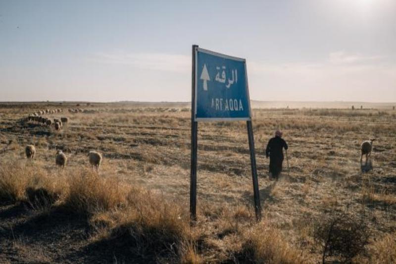 الطريق الى الرقة