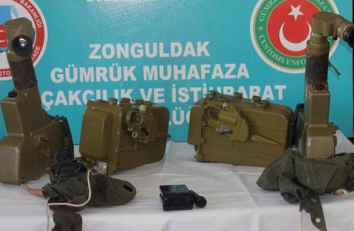 احباط عملية تهريب اسلحة عبر تركيا