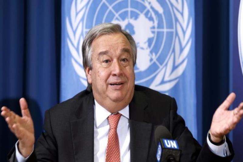 الامين العام للأمم المتحدة يطالب...