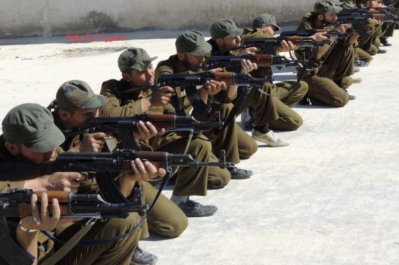 تدريبات مكثفة للجيش الوطني