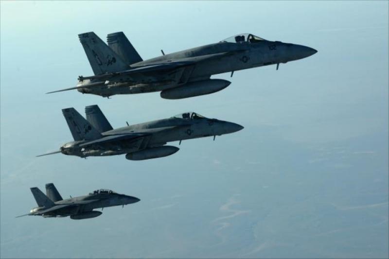 طيران التحالف و المجازر