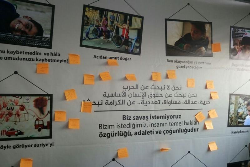 في مهرجان الطلاب الدوليين في استنبول