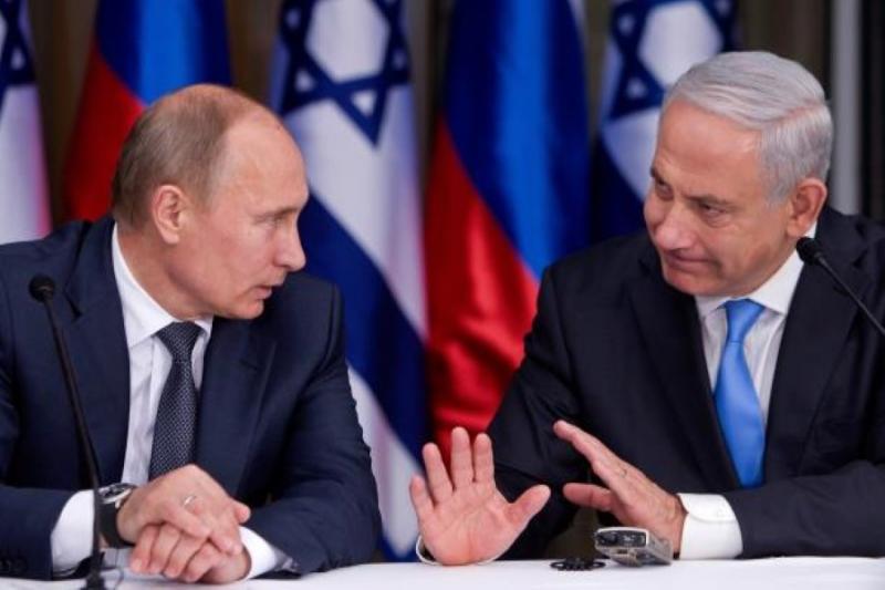 نتنياهو و بوتين