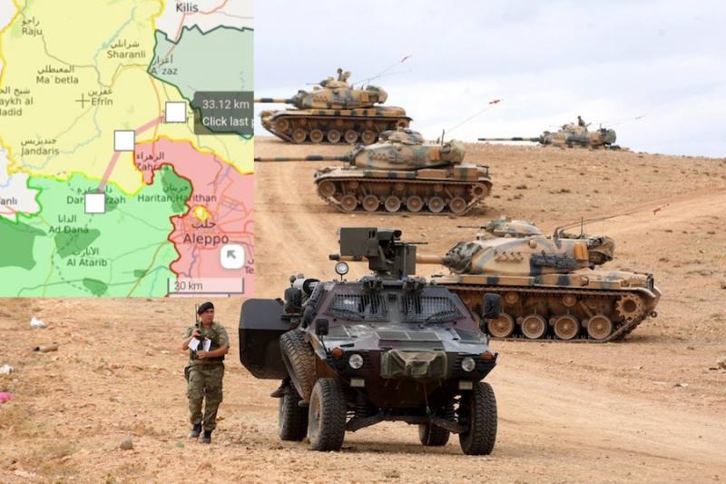 الجيش التركي إلى عفرين
