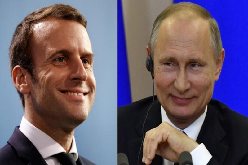 بوتين و ماكرون