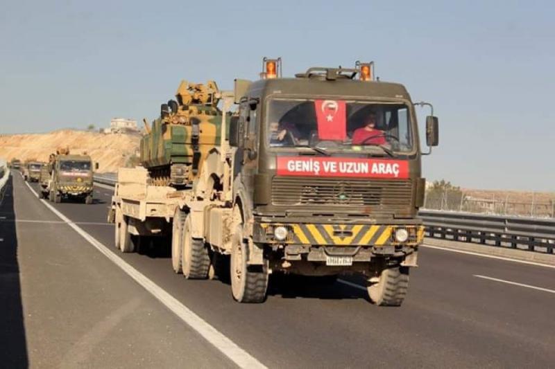 تعزيزات تركية لمواجهة محتملة مع الاكراد