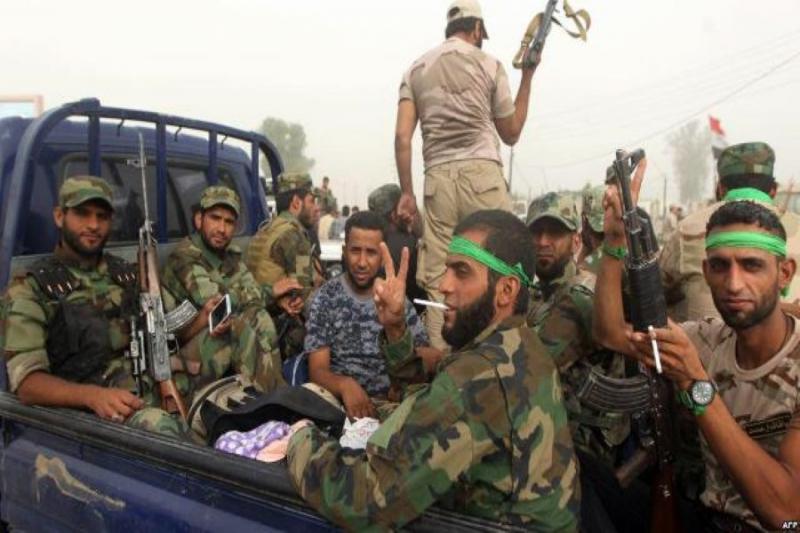 حشود ايران الافغانية في سوريا