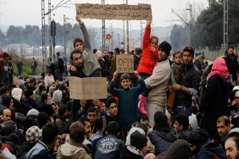 حملة فردية لدعم اللاجئين العالقين في اليونان