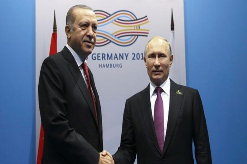 قمة العشرين- أردوغان وبوتين