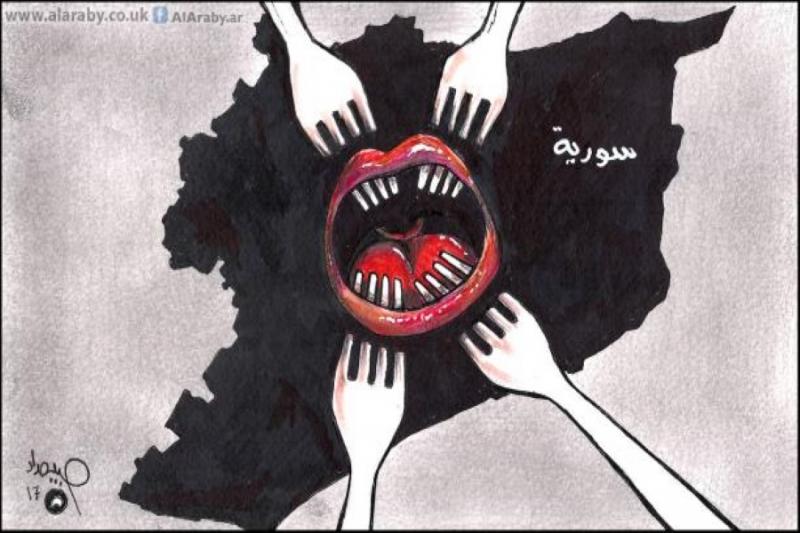 تغول الايديولوجيات في سورية