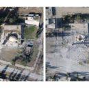 أحد المساجد المدمرة في الرقة