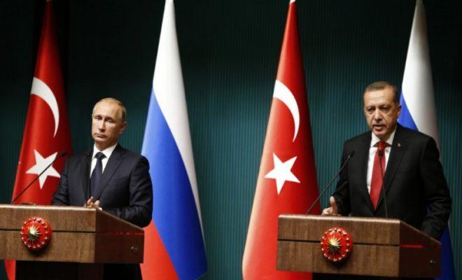 بين تركيا و روسيا