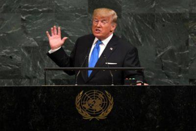 ترامب في الأمم المتحدة