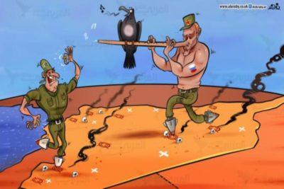 مواجهة بين روسيا و اسرائيل