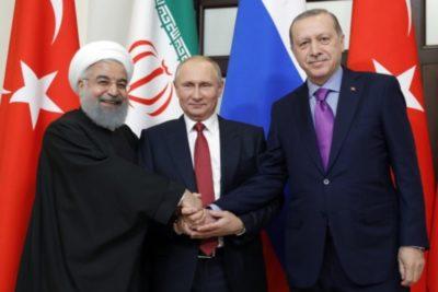 ثلاثية سوتشي و شرعنة احتلال سوريا