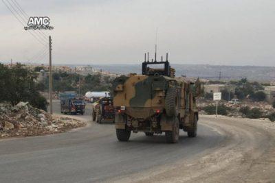 تركيا تتجه إلى إدلب و عينها على عفرين