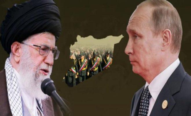 روسيا وحرس إيران الثوري
