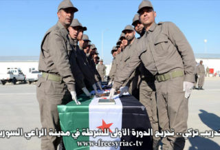 بتدريب تركي.. تخريج الدورة الأولى للشرطة في مدينة الراعي السورية