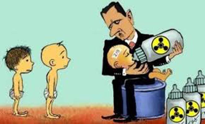 مجدداً أمريكا تطالب نظام الأسد بفك برنامج الأسلحة الكيماوي