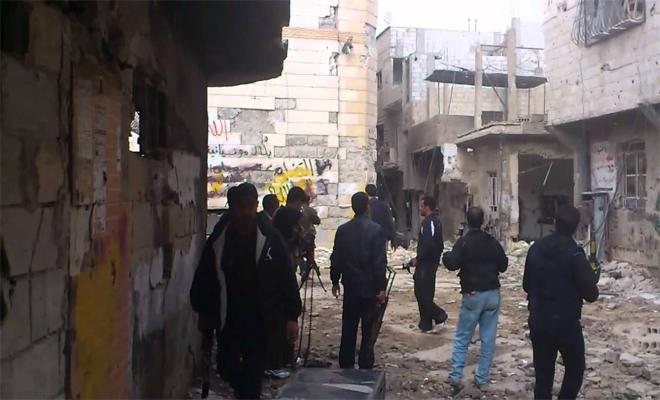 الثوار يباغتون تنظيم داعش جنوب دمشق