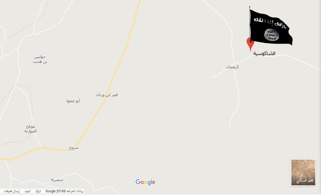 بقصد التمهيد لتقدم عصابات الأسد تنظيم داعش يسيطر على 10 قرى في حماة