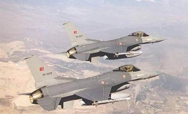 ثلاثة وعشرون هدفآ جديدآ للمقاتلات التركية على أوكار الإرهابيين في عفرين