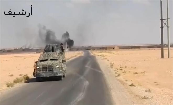 داعش يجدد هجماته بريف البوكمال و طيران مجهول الهوية يقصف مواقع لعصابات الأسد