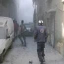 في مجزرة مروعة استشهد 18 مدنياً بقصف طيران الغُزاة الروس على مسرابا بريف دمشق
