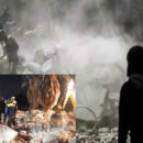 خمسة شهداء مدنيين بمجزرة لطيران الغُزاة الروس في بلدة تل طوكان بريف إدلب