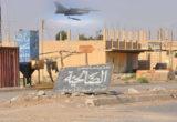 التحالف يقصف عصابات الأسد وحشود الميليشيات المساندة لها شمال ديرالزور بسبب تهديدها لقسد