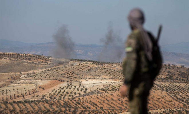 الجيش الحر بدعم عسكري تركي يتمكنون من السيطرة على قريتين بمنطقة عفرين