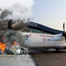 إيران : 66 راكب لقوا حتفهم جراء سقوط طائرة