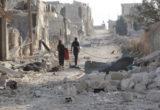 مدفعية عصابات الأسد تواصل قصفها في الغوطة وبدء سريان الهدنة الروسية