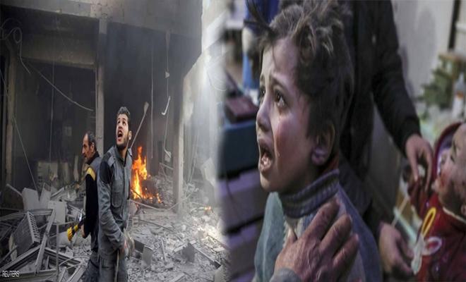 بعد الهجمات الأخيرة على الغوطة الشرقية , الأمم المتحدة تقول بأن الوضع خرج عن السيطرة