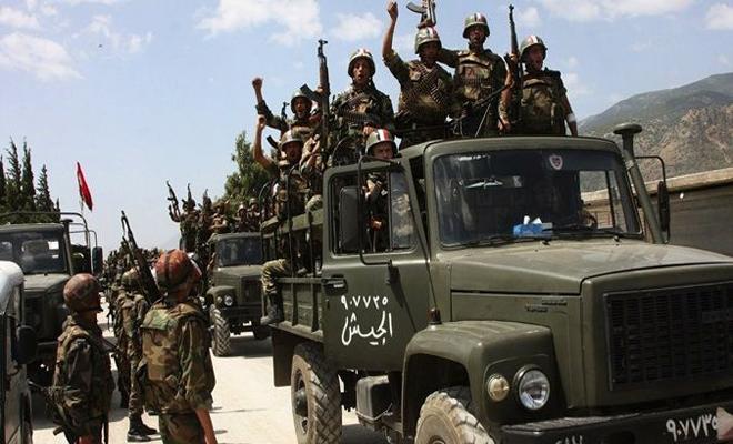 عصابات الأسد تستقدم تعزيزات عسكرية جديدة على محاور جنوب دمشق